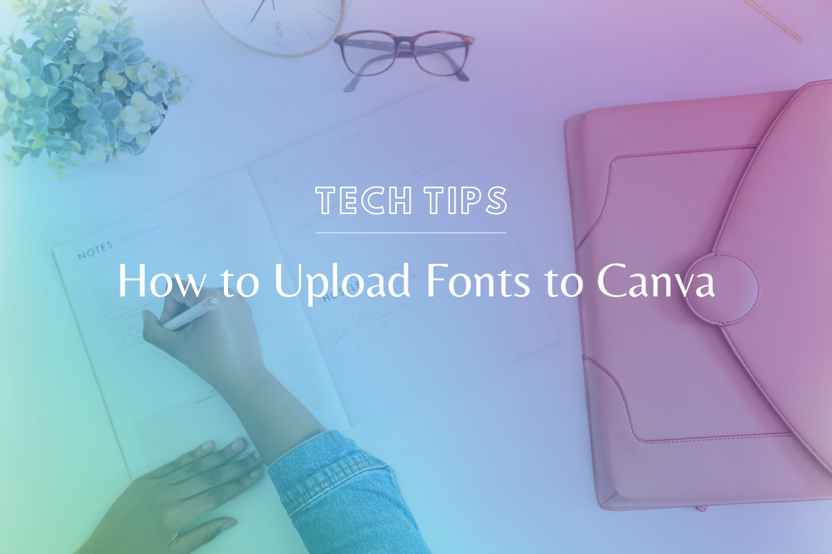 How to Upload Fonts to Canva