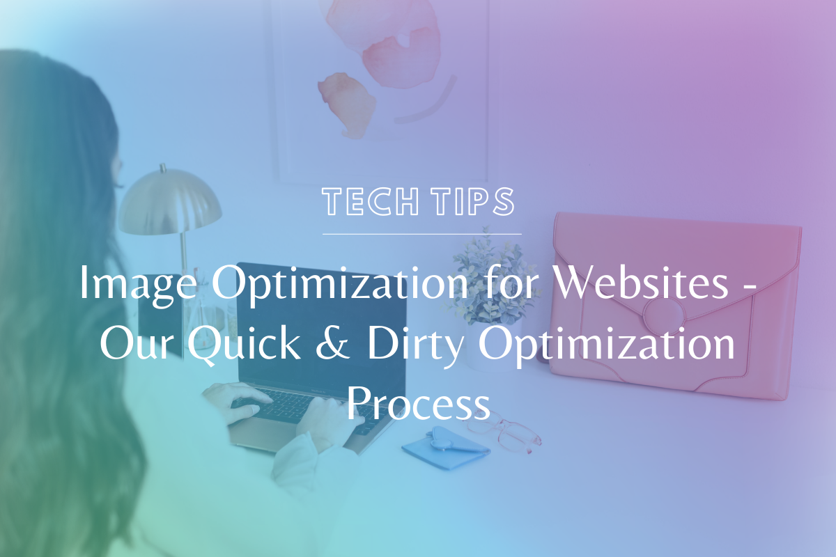 Your page and website speed can be massively impacted by the size of your images. Learn the Sam Munoz Consulting process for image optimization for websites! @hellosammunoz www.makingwebsitemagic.com